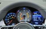 Porsche Macan instrument cluster
