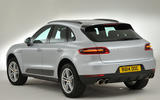 Porsche Macan rear quarter