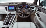 Porsche Macan Turbo dashboard