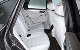 Porsche Macan Turbo rear seats