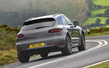 Porsche Macan Turbo rear