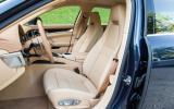 Porsche Panamera front seats