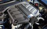 3.6-litre Porsche Panamera V6 engine