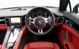 Porsche Panamera Diesel dashboard