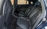 Porsche Panamera rear seats
