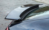 Porsche Panamera rear wing