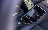 Porsche Panamera Sport Turismo rear climate controls