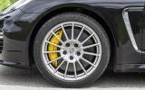 Porsche Panamera Turbo 20in alloys