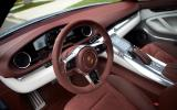 Porsche Panamera Sport Turismo dashboard