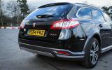 Peugeot 508 RXH rear end