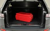 Range Rover Evoque boot space
