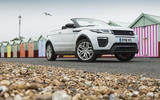 3.5 star Range Rover Evoque Convertible