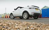 Range Rover Evoque Convertible rear quarter