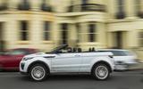 Range Rover Evoque Convertible side profile