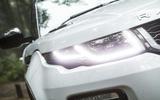 Range Rover Evoque Convertible xenon headlights