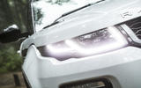 Range Rover Evoque Convertible xenon headlights