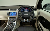 Range Rover Evoque dashboard