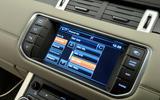 Range Rover Evoque infotainment
