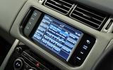 Range Rover infotainment