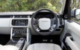 Range Rover Autobiography dashboard