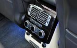 Range Rover rear climate controls