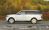 Range Rover side profile