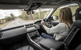 Driving the Range Rover Sport
