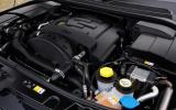 Longitudinal Range Rover Sport engine