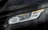 Range Rover Sport headlights