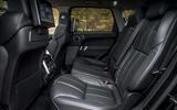 Range Rover Sport rear seats