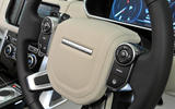 Range Rover steering wheel controls