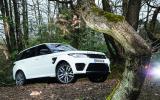 The Land Rover Range Rover Sport SVR