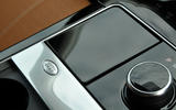 Range Rover Velar badged cubbyhole
