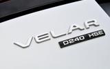 Range Rover Velar badging