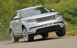 Range Rover Velar cornering