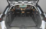 Range Rover Velar extended boot space