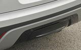 Range Rover Velar rear diffuser