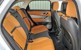 Range Rover Velar rear seats