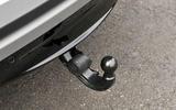 Range Rover Velar retractable tow bar