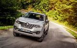 Renault Alaskan cornering
