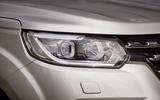 Renault Alaskan LED headlights