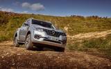 Renault Alaskan off-road