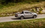 Renault Alaskan rear cornering