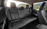 Renault Alaskan rear seats