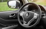 Renault Alaskan steering wheel
