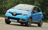 Renault Captur cornering