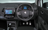 Renault Captur dashboard