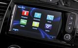 Renault Captur infotainment system