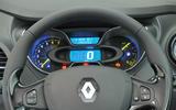 Renault Captur instrument cluster
