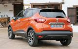 Reanult Captur rear quarter